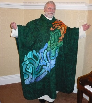 2009 Elements chasuble, front