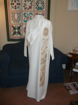 2010 Byzantine Deacon - White full